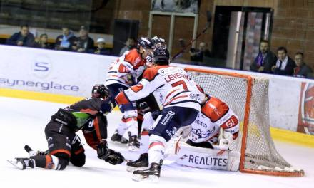 Ligue Magnus (11e journée) : Angers se sort d'un match à rebondissements face à Mulhouse (5-5, tab.: 2-1).
