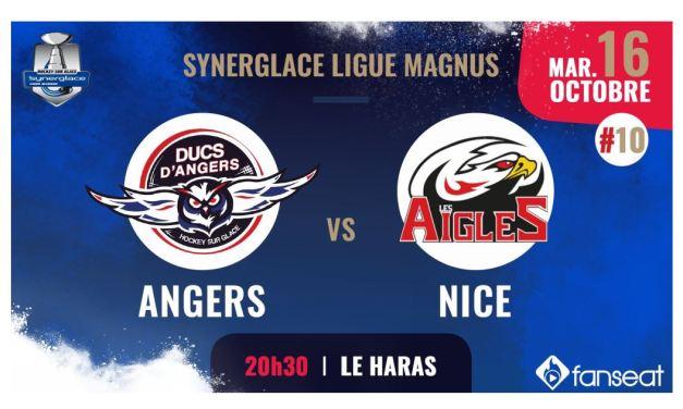 Ligue Magnus (10e journée) : Les Ducs d'Angers veulent enchaîner face à Nice.