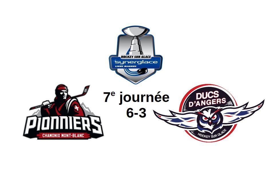 Ligue Magnus (7e journée) : Angers a manqué d'ambition et chute à Chamonix (6-3).