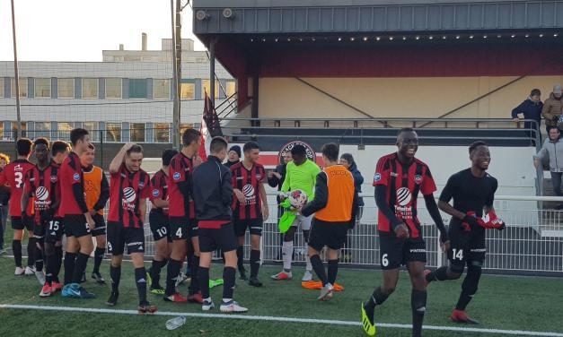 U19 National (11e journée) : Le SO Cholet obtient sa première victoire face à Pau (2-0).