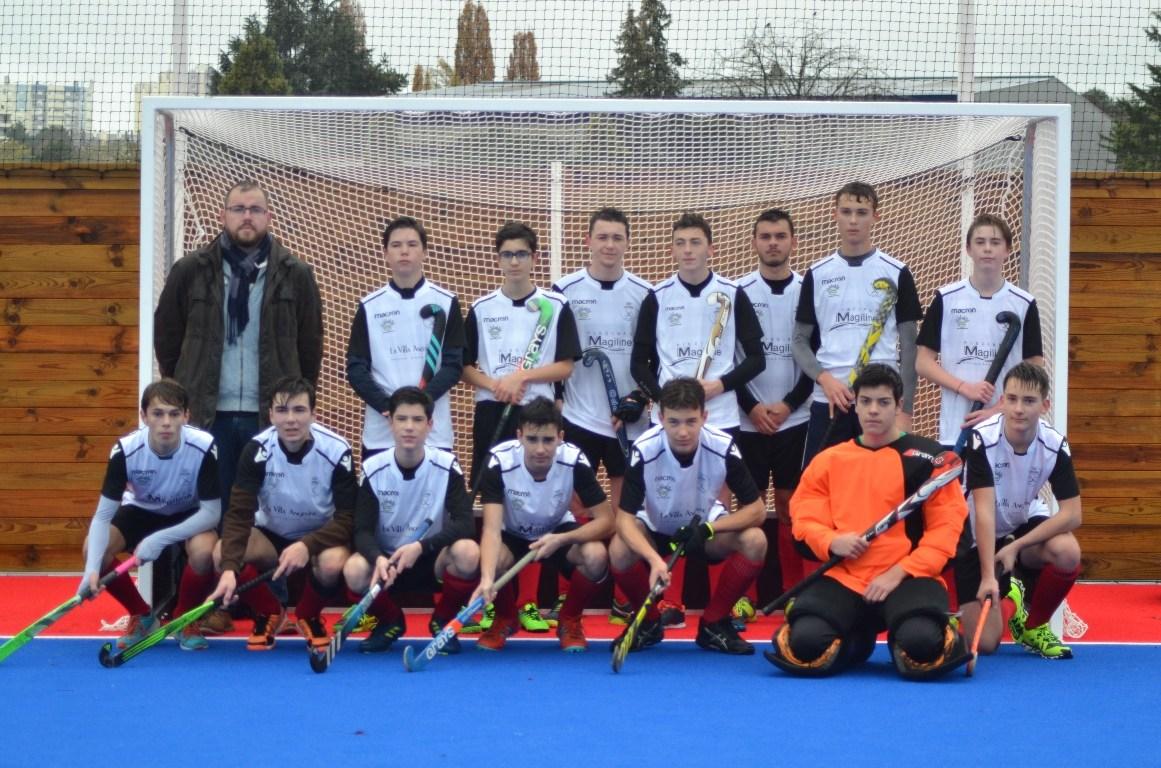 Les jeunes Hockeyeurs U19 du SCO d'Angers ont accueilli les meilleures équipes françaises !