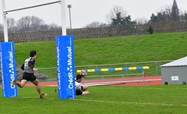 Le SCO Rugby Club Angers évite la fève Luçonnaise.