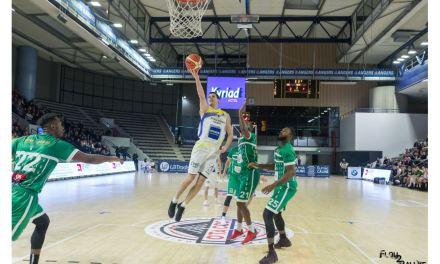 NM1 (24e journée) : Victoire collective de l'Étoile Angers Basket face à Vitré (80-75).