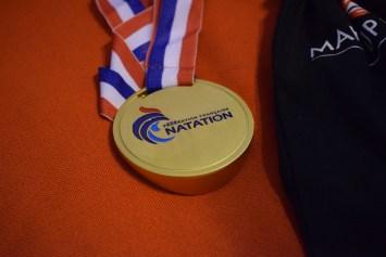 Médaille remis dans ces championnats de France (Photo : Jimmy Joubert)