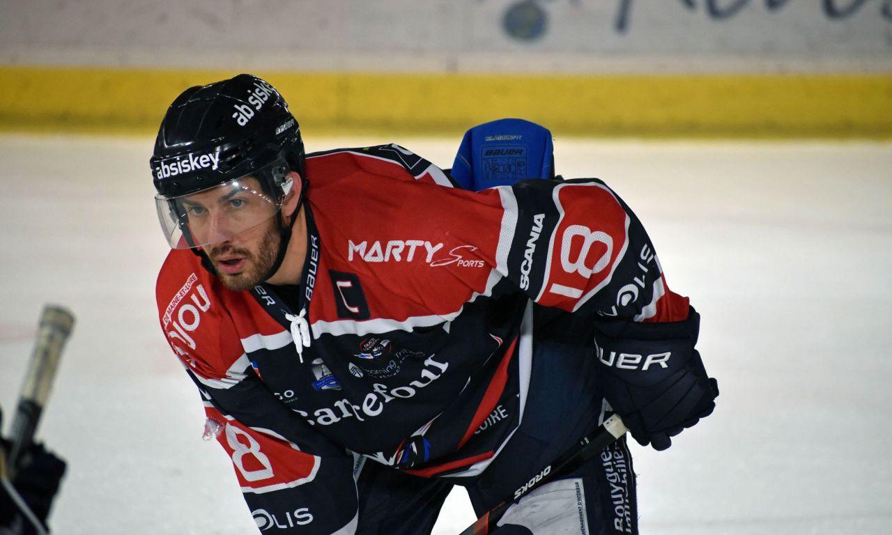 Julien ALBERT : Les Ducs d'Angers veulent écrire une nouvelle page de leur histoire à l'Ice Parc.