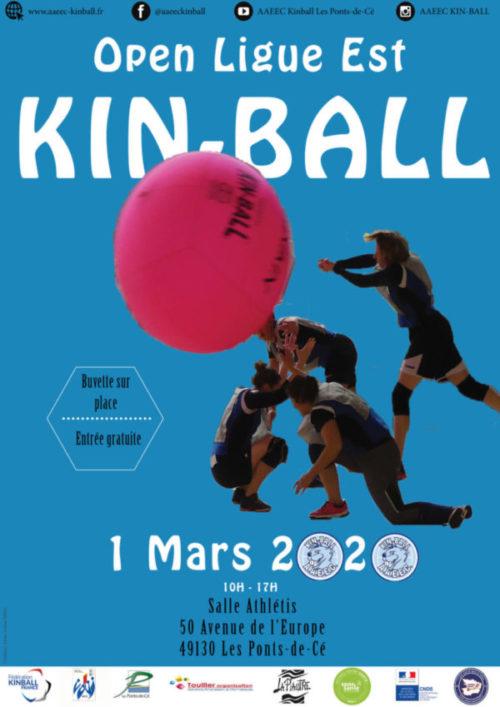Championnat Régional de Kin-Ball: l'AAEEC reçoit six clubs Dimanche 1er Mars