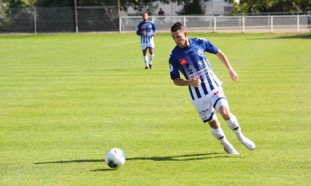 Geoffroy LEVRON : Je souhaite continuer ma progression au sein du club d'Angers NDC.