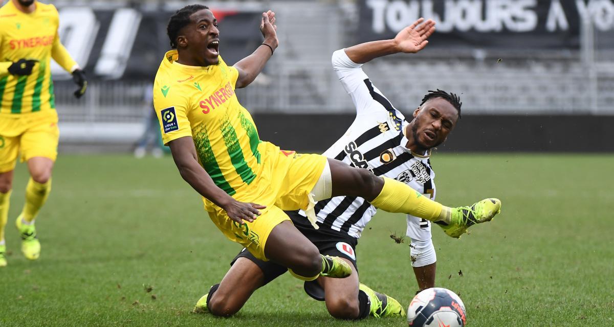 L1( J25) : Les Nantais mettent fin à leur série négative à Angers (3-1).