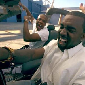 "Jay-Z and Kanye West in ""Otis"""