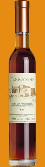 Passito di Pantelleria Ferrandes