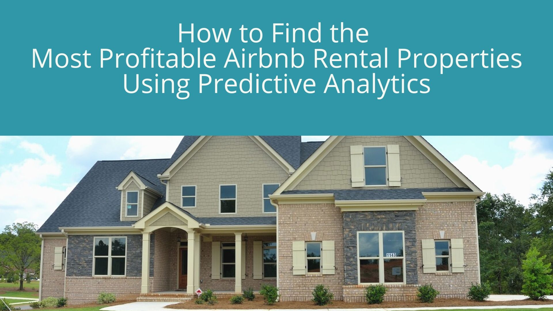 Find profitable Airbnb rentals