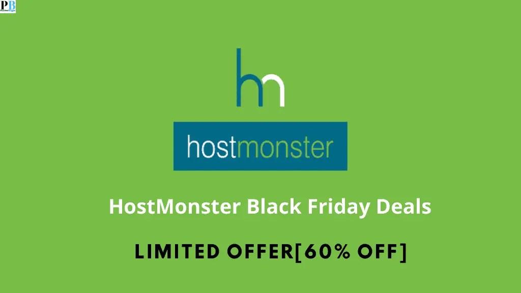 HostMonster Black Friday