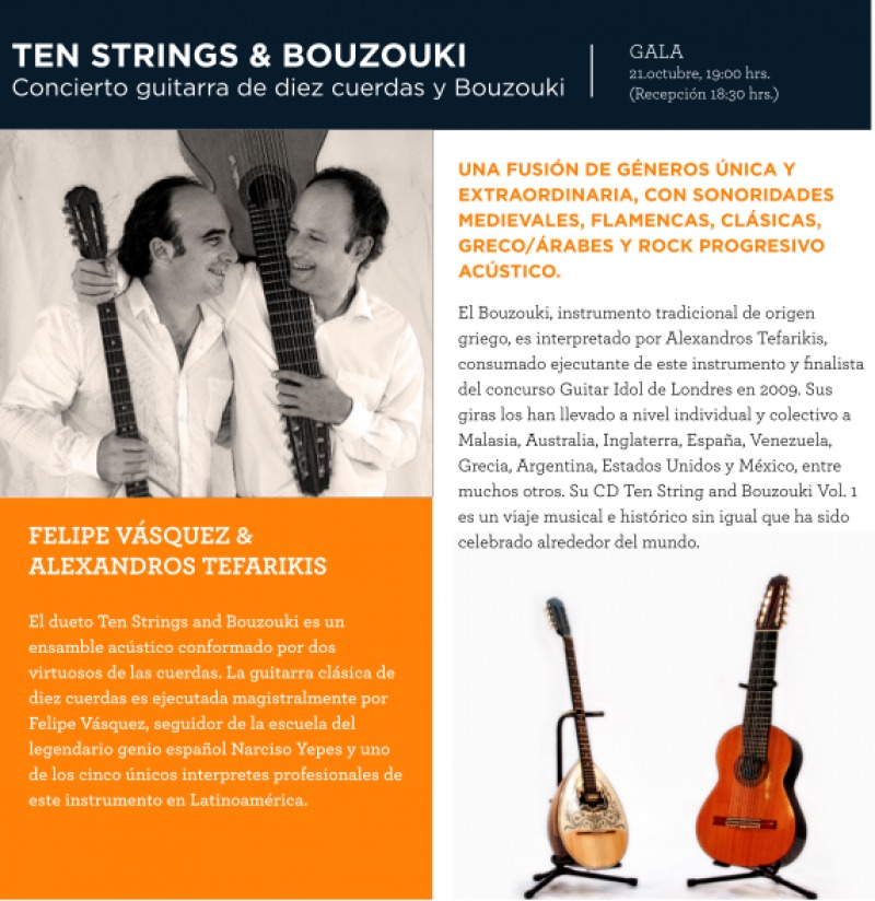 MUSICA VIVA 2017 - TEN STRINGS & BOUZOUKI - Passline