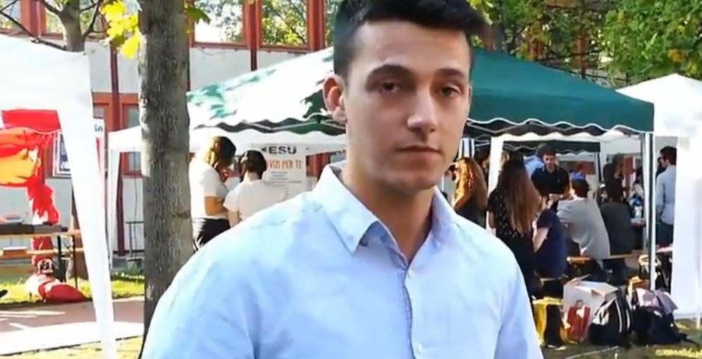 Thomas Andreatti presidente consiglio degli studenti