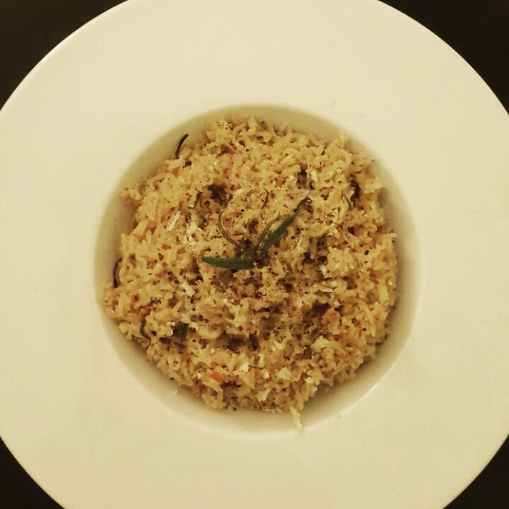 Garlic and Herb Brown Rice.