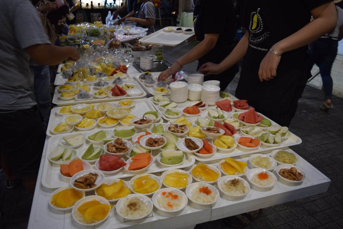 Day 5 in Bangkok, the Durian Festival and Khao San Road