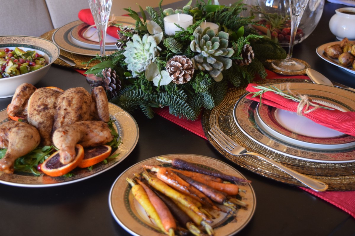 How To Make a Festive Feast For Two with Home Center Stores.