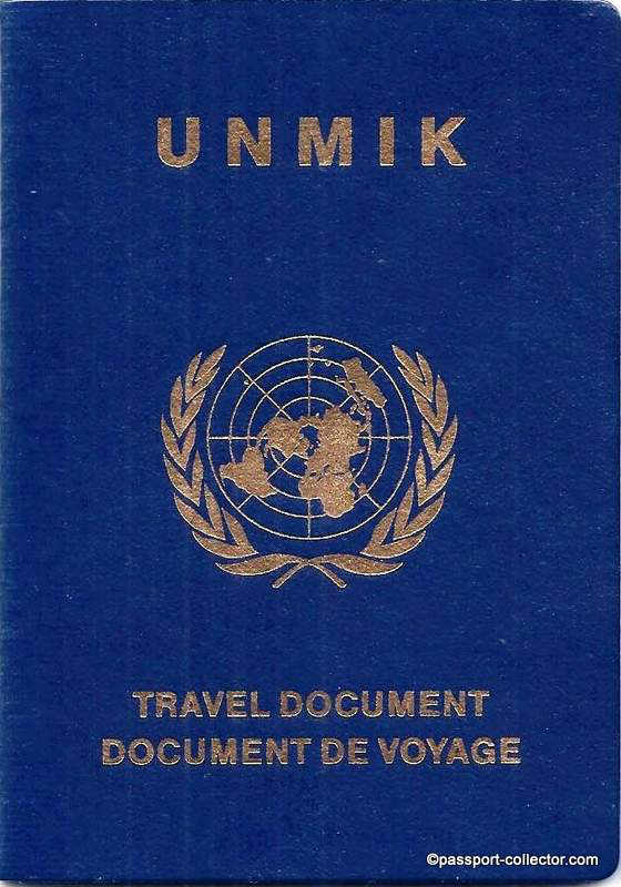 UNMIK Travel Document