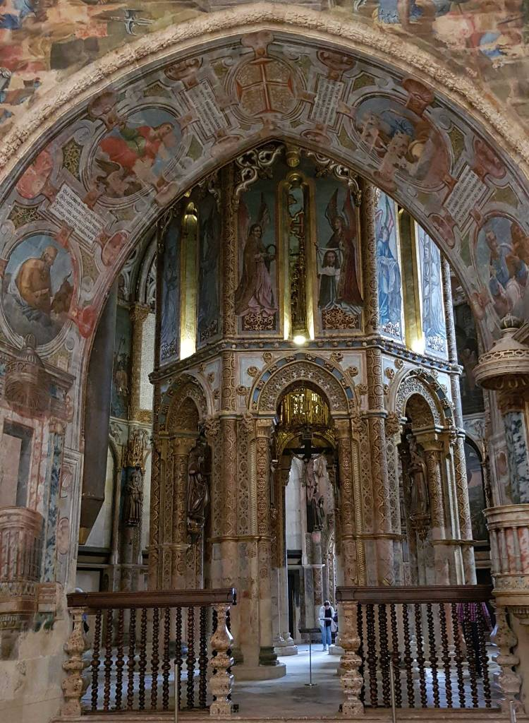 UNESCO Sites: Round church in the Convent of Christ, Tomar