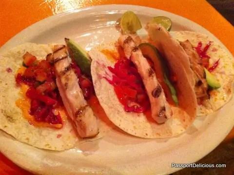 Moonshine Mahi Mahi Tacos