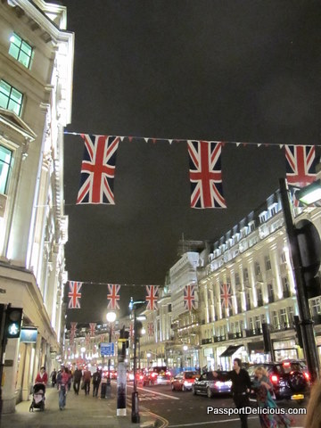 Regent Street with Bunting