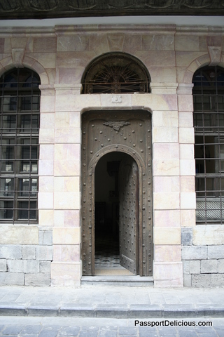 Door in Damascus