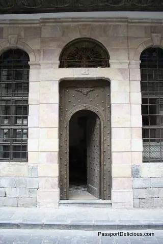 Door in Damascus