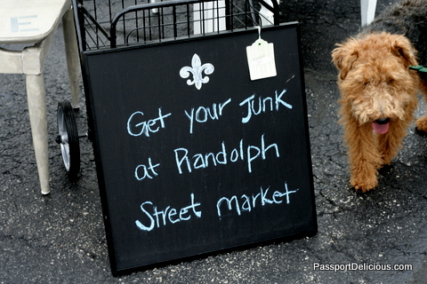 Randolph Street Market Sign