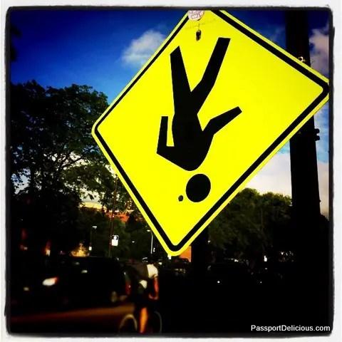 Sign on Milwaukee Ave