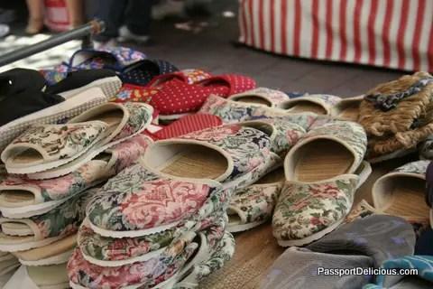 Shoes at Liberdade