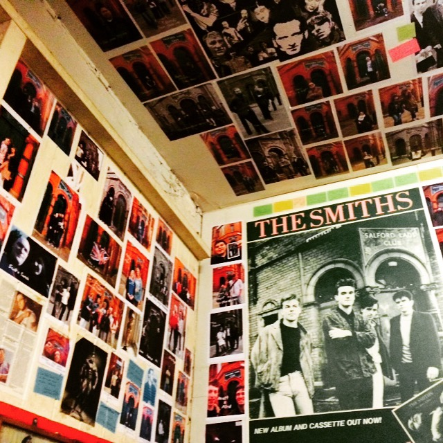 The Smiths Room at The Salford Lads Club
