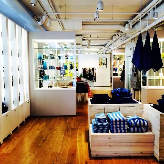 Buy everything at Marimekko during your weekend in Helsinki