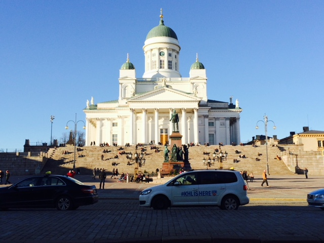 Visit Helsinki Cathedral during your weekend in Helsinki