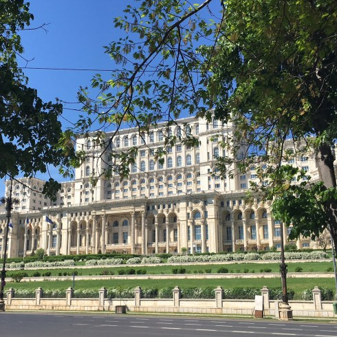 Bucharest's Palace of the Parliament