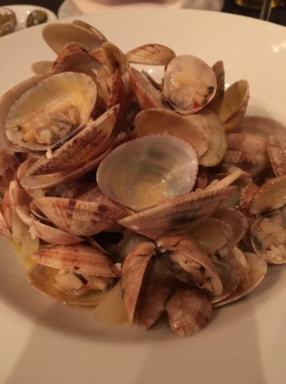 Clams at One, My Favorite Meal during My Weekend in Montenegro