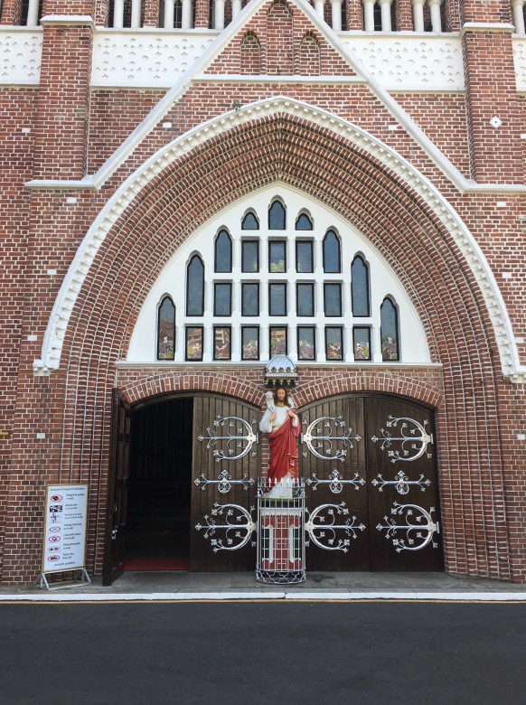 Visit St. Mary's Cathedral in Yangon