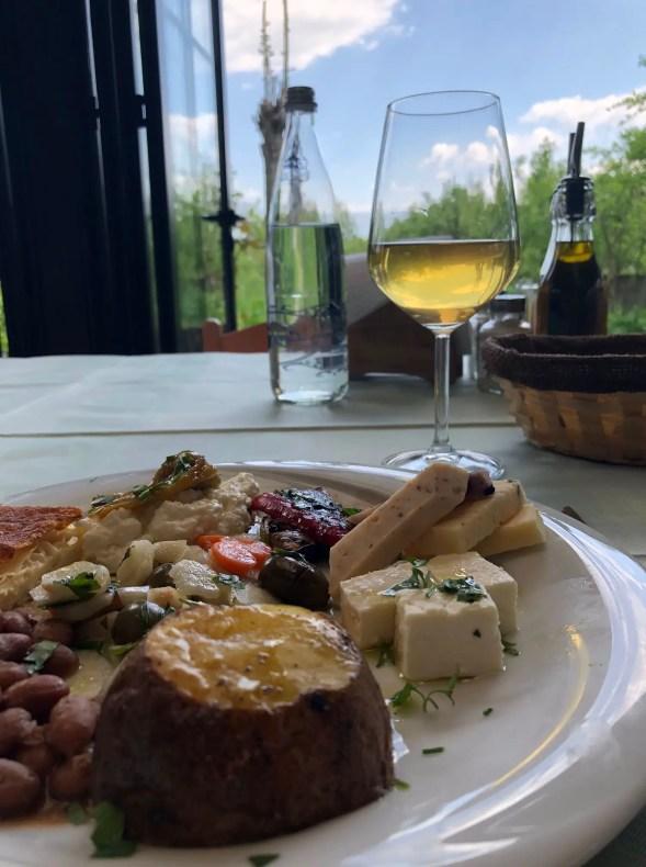 Wine and cheese at Uka Farm