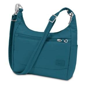 Pacsafe Anti Theft Purse for Travel. Pacsafe also makes a number of anti-theft purses for travel.