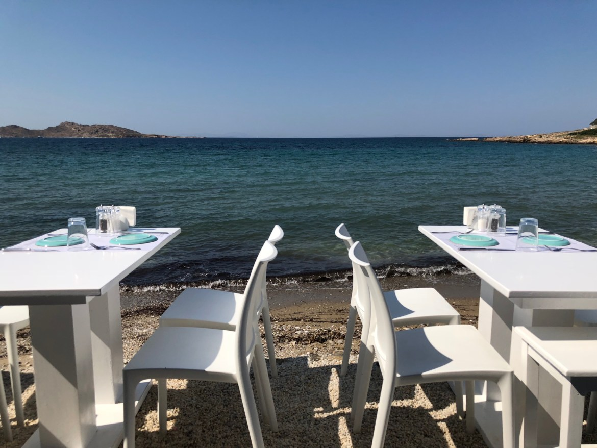 Things to Do in Paros: Eat at Taverna Glafkos in Naoussa
