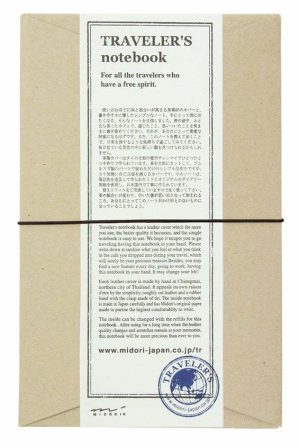 The Midori Traveler's Notebook is widely respected as one of the best travel journals out there.