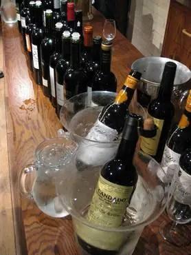 Vinoteca winetasting