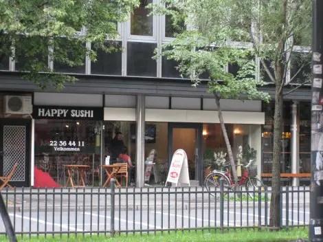 Happy Sushi Outside