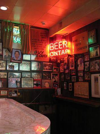 Billy goat beer on tap