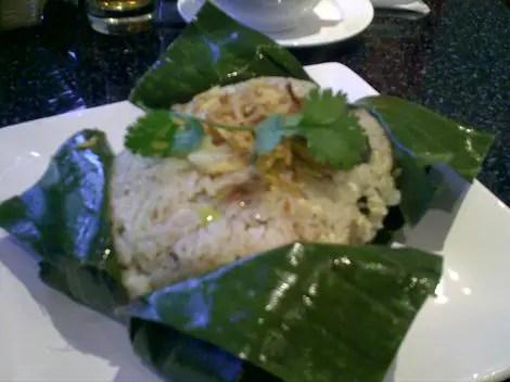 Pho sweet basil rice thingie