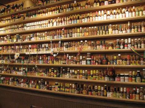 Heaven on seven sauces