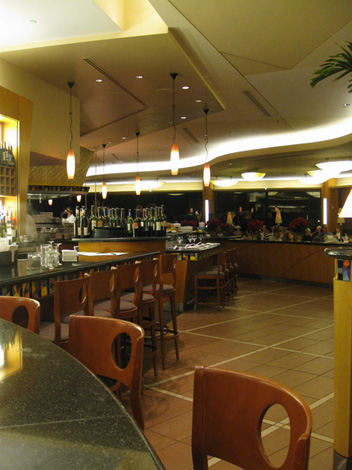California grill inside