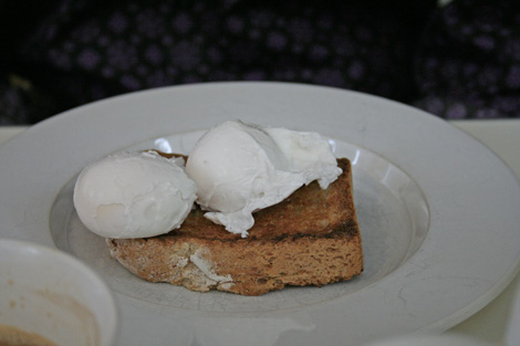 Albion poached eggs