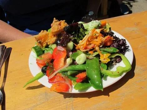 Look mum no hands salad plate