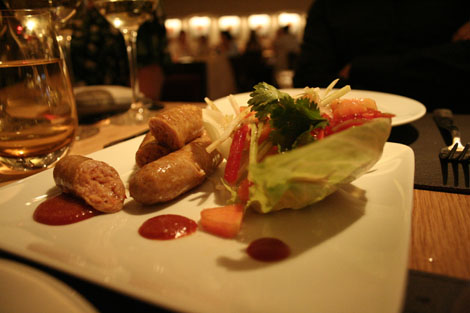 Bar boulud thai sausages