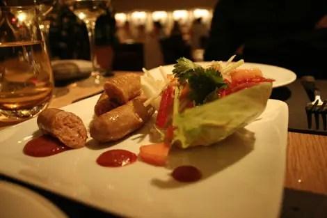 Bar boulud thai sausages